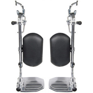 Image of Wheelchair Elevating Leg Rest